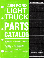 2006 Ford F150 & Mark LT Parts Catalog Vol. 6