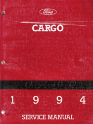 1994 Ford Cargo Factory Service Manual