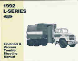 1992 L-Series Electrical & Vacuum Trouble-Shooting Manual
