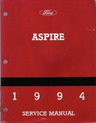1994 Ford Aspire Service Manual