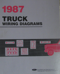 1987 Ford All Trucks Factory Wiring Diagrams