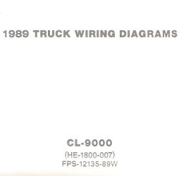 1989 Ford CL-9000 - Wiring Diagrams