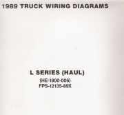 1989 Ford Truck L Series Wiring Diagrams (Haul)