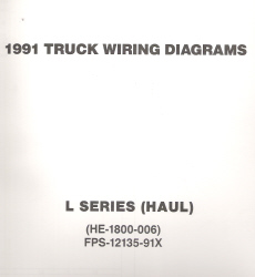 1991 Ford Medium/Heavy Truck L-Series Wiring Diagrams (Haul Configuration)