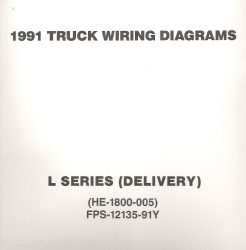 1991 Ford Medium/Heavy Truck L-Series Wiring Diagrams (Delivery Configuration)