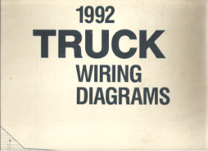 1992 Ford Truck Factory Wiring Diagrams