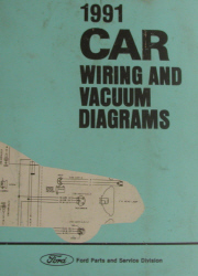 1991 Ford Car Factory Wiring Diagrams