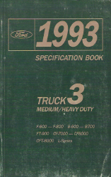 1993 Ford Medium/Heavy Duty Factory Specification Manual