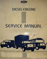 1992 Ford 6.6L & 7.8L Diesel Engine Service Manual