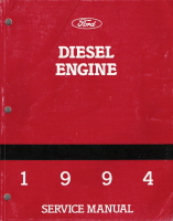 1994 Ford Medium Heavy Duty Diesel Engine Factory Service Manual