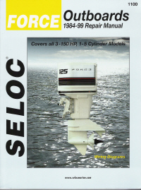 1984 - 1999 Force Outboards All Engines Seloc Repair Manual