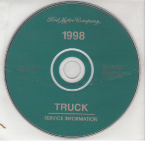 1998 Model Year Ford Truck & Van: Factory Workshop Information CD-ROM