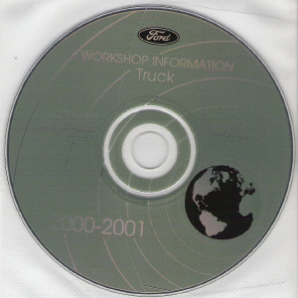2000 - 2001 Model Year Ford Truck & Van: Factory Workshop Information CD-ROM