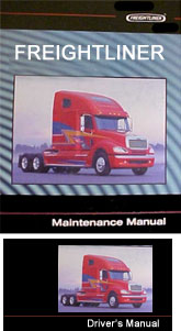Freightliner 108SD & 114SD Truck Factory Driver & Maintenance Manuals