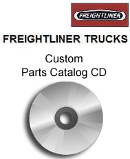 Freightliner Truck Custom Parts Catalog CD-ROM