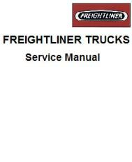 Freightliner Cargo Truck Factory Service Manual