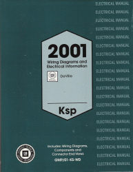 2001 Cadillac Deville Factory Wiring Diagrams Manual