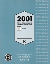 2001 Cadillac Seville Factory Wiring Diagrams Manual