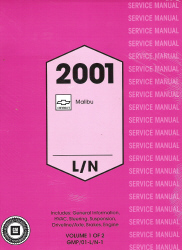 2001 Chevrolet Malibu Factory Service Manual