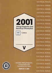 2001 Cadillac Catera Factory Wiring Diagrams Manual