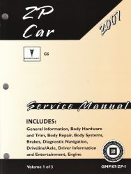 2007 Pontiac G6 Factory Service Manual