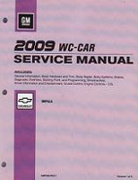 2009 Chevrolet Impala & Monte Carlo Factory Service Manual - 3 Volume Set