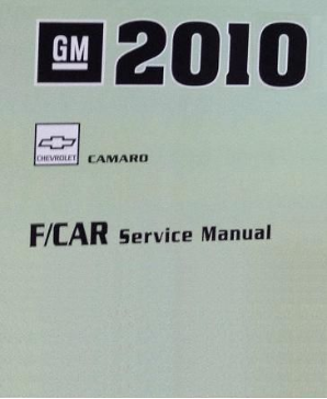 2010 Chevrolet Camaro Factory Service Repair Workshop Manual, 3 Vol. Set