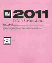 2011 Chevrolet Malibu Factory Service Manual - 4 Volume Set