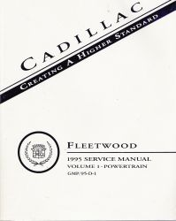 1995 Cadillac Fleetwood Rear Wheel Drive Service Manual - 2 Volume Set