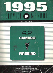 1995 Chevrolet Camaro & Pontiac Firebird Factory Service Manual - 2 Volume Set