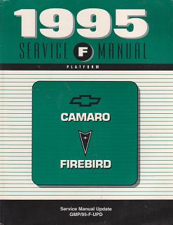 1995 Chevrolet Camaro and Pontiac Firebird Factory Service Manual Update