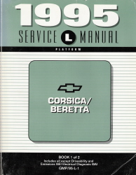 1995 Chevrolet Corsica & Beretta Factory Service Manual - 2 Volume Set