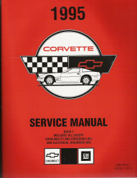 1995 Chevrolet Corvette Service Manual - 2 Volume Set
