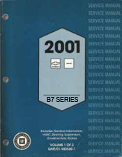 2001 Chevrolet, GMC Medium Duty Truck B7-Chassis Factory Service Manual - 2 Volume Set