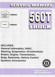 2005 Chevrolet / GMC 560T Truck Series Factory Service Manual
