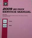 2009 Chevrolet, GMC 560 C-Series Topkick & Kodiak Factory Service Manual, 3 Vol. Set