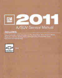 2011 Chevrolet HHR Factory Service Repair Workshop Manual, 3 Vol. Set