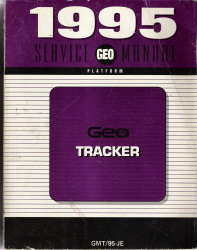 1995 Geo Tracker Factory Service Manual