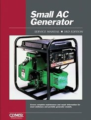 1990 and Earlier Small AC Generator Clymer Service Manual Volume 1