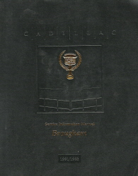 1991 - 1992 Cadillac Brougham Factory Service Manual