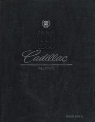 1993 Cadillac Allante Factory Service Manual