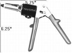 Manually Operated Hydraulic Rivet Gun