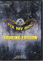 Late 1984 - Present Harley-Davidson EVO, Twin Cam Fix My Hog Touring Edition DVD