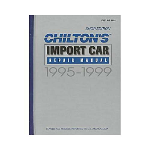 1995 - 1999 Chilton's Import Auto Repair Manual, Shop Edition