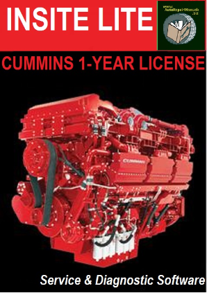 Cummins INSITE LITE v8.2 Factory Diagnostic PC Software Subscription on DVD-ROM