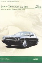 1995 - 1997 Jaguar XJ6 (X300) 3.2 Litre Parts and Service Manuals on DVD-ROM