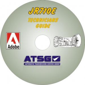 Nissan / Infinity JATCO JR710E Technicians Diagnostic Guide- Mini CD-ROM