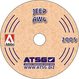 Jeep AW-4 Transmission Rebuild Manual CD-ROM