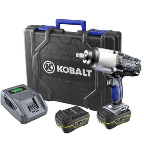 Kobalt 20-Volt 1/2-in Drive Cordless Impact Wrench 1900 RPM, 350ft.-Lbs.
