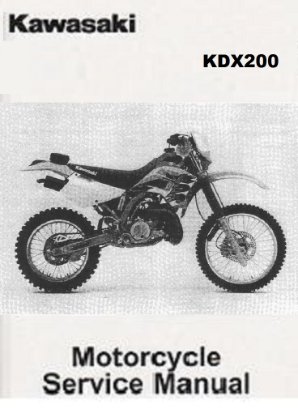 1989 - 1994 Kawasaki KDX200 Service Manual